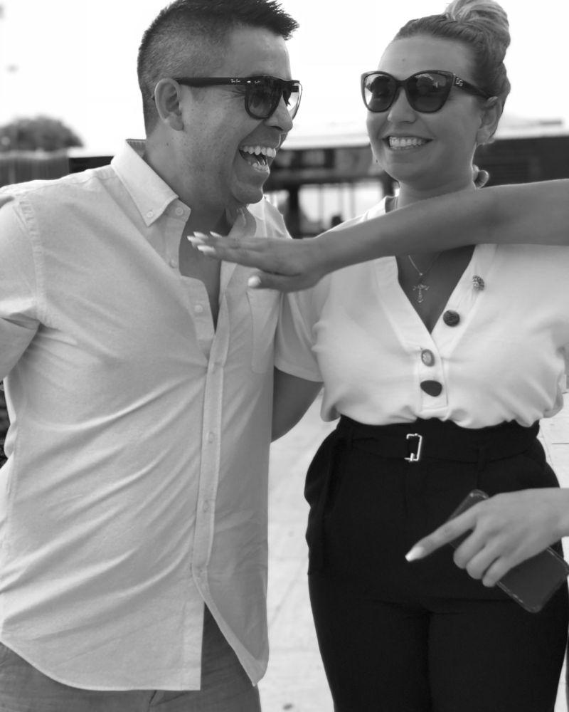 Daniel Mancilla (VD) och Tanja Mancilla (Ekonomichef)